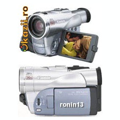 Camera video digitala miniDV Canon MVX200 (dezasamblata, dar completa)
