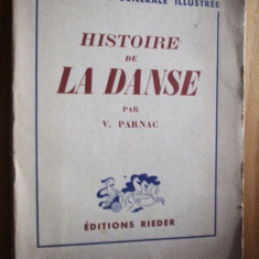 HISTOIRE DE LA DANSE par Valentin Parnac - Carte Arta dansului