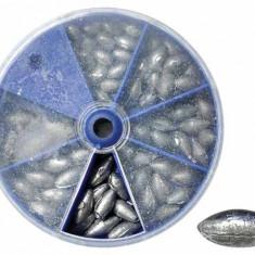 Set greutati pescuit culisante