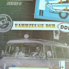 BARKAS AMBULANTA-DDR MODELE- ++1799 DE LICITATII !! - Macheta auto
