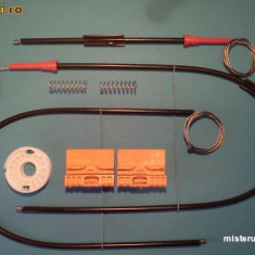 Kit reparatie macara geam actionat electric Audi A4 B7 tip 8E ('05-'08)fata dr.