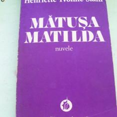 MATUSA MATILDA HENRIETTE YVONNE STAHL