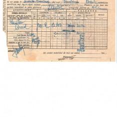 294 Document vechi-10oct1946-Bon de vanzare-Casa Padurilor Statului -Scoala Primara comuna Perisoru(Ianca), jud.Braila-a fost indosariat prin coasere