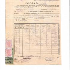 292 Document vechi fiscalizat-4oct1946-Factura 548-Petrol-Comert -Comitetul scolar comuna Perisoru (Ianca), jud.Braila-a fost indosariat prin coasere