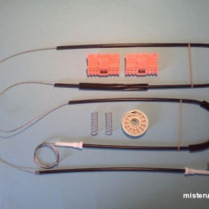 Kit reparatie macara geam Audi A6 (pt an fab.'05-'09) fata dreapta