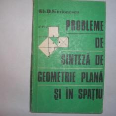 Probleme de sinteza geometrie plana si in spatiu, 18, 16, 1, RF6/4, RF, RF11/2 - Carte Matematica