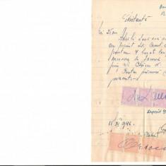 296 Document vechi fiscalizat-15noe1946-Chitanta-Deposit Gara Ianca -Comitet scolar comuna Perisoru(Ianca), jud.Braila-a fost indosariat prin coasere