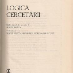 Karl R. Popper - Logica cercetarii - Filosofie