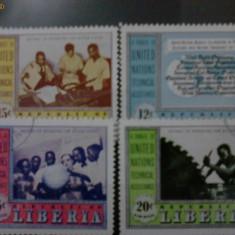 Timbre liberia 1953-1954 - Timbre straine