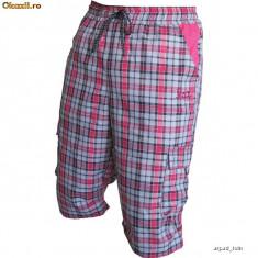 Pantaloni 3/4 Outdoor / Trekking Tashev Cargo Rosii - Imbracaminte outdoor, Marime: XS, S, M, L, XL, XXL