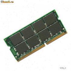 512MB PC133 SDRAM CL3 NP SO-DIMM 144 pini Low Density Memorie Ram Laptop