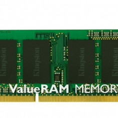 Memorie NotebookSODIMM DDRAM3 1GB PC10600 1333Mhz CL9 KINGSTON Value RAM Laptop KVR1333D3S9/1G - Memorie RAM laptop