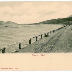 2642 - ORSOVA, railway - old postcard - unused - Carte Postala Oltenia 1904-1918, Necirculata, Printata