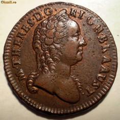 E.081 AUSTRIA MARIA THERESA 1 EIN KREUTZER KREUZER 1760 W - Moneda Medievala, Europa