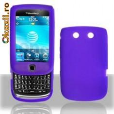 husa mov silicon slide Blackberry Torch 9800