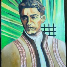 Corneliu Zelea Codreanu, ulei / panza