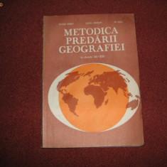 Metodica Predarii Geografiei La Clasele IX-Xll - Octavian Mandrut Valerica Ungureanu Ion Mierla