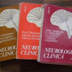 Neurologie Clinica - Emil Campeanu (3 vol) - Carte Neurologie
