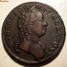 E.080 AUSTRIA MARIA THERESA EIN 1 KREUTZER KREUZER 1760 W - Moneda Medievala, Europa