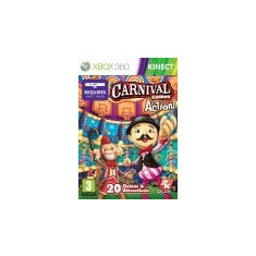 Carnival Games In Action XBOX 360 KINECT - Jocuri Xbox 360, Arcade, 3+, Single player