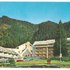 Carte postala(ilustrata)-POIANA BRASOV-Complex turistic Hotel Teleferic - Carte Postala Transilvania dupa 1918