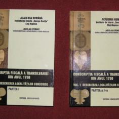 Conscriptia fiscala a Transilvaniei din anul 1750, Vol.I (Partea I+Partea II) - Istorie