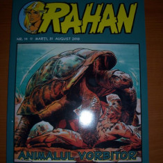 RAHAN, ANIMALUL VORBITOR NR 14, ESTE NOU NOUT . - Reviste benzi desenate