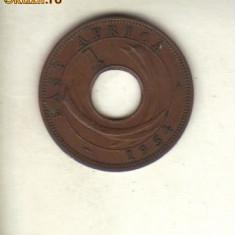 Bnk mnd africa de est britanica 1 cent 1954