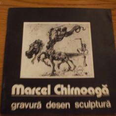 MARCEL CHIRNOAGA - Gravura * Desen * Sculptura [ album ] - Album Arta