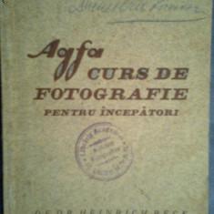 AGFA-Curs de fotografie pentru incepatori-Dr.Heinrich Beck - Curs hobby