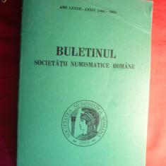 Buletinul Societatii Numismatice Romane 1983-1985