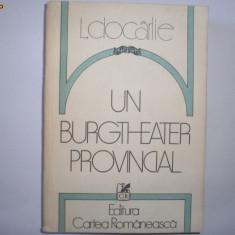 Un Burgtheater Provincial de Livius Ciocarlie, k2 - Biografie