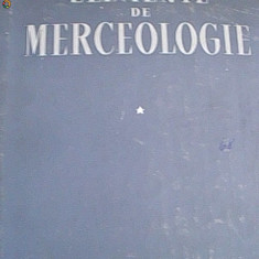 ELEMENTE DE MERCEOLOGIE