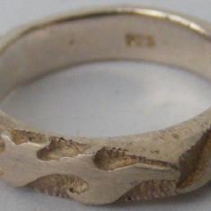 Inel vechi din argint  (73) - de colectie