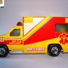 MATCHBOX-AMBULANTA ++1799 DE LICITATII !! - Macheta auto