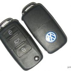 Cheie completa Briceag 3 butoane VW cu Cip ID 48 si modul telecomanda 433MHZ