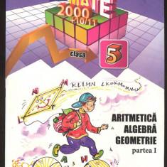 Sorin Peligrad*Dan Zaharia*Maria Zaharia_ARITMETICA ALGEBRA GEOMETRIE - Manual scolar paralela 45, Clasa 5, Paralela 45