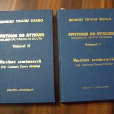 Epistolae Ad Atticum (Scrisori catre Atticus) - Marcus Tullius Cicero - 1977, Alta editura