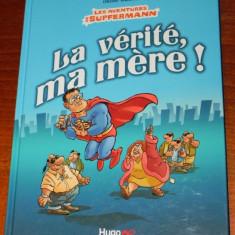 Benzi desenate Franta - HUGO BD - OLIVIER RANSON - LES AVENTURES DE SUPFERMANN - Reviste benzi desenate