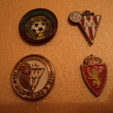 Set 4 insigne fotbal - Insigna fotbal
