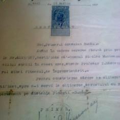 BUZAU- SEMNATURA PRIMARULUI 1927.