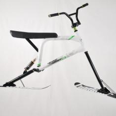 Skibike, Ski bike, Snowbike, Snow bike Bicicleta cu schiuri