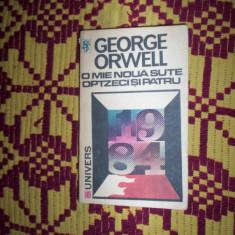 O mie noua sute optzeci si patru / 1984 )- Orwell - Roman