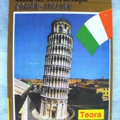 """""""GHID DE CONVERSATIE ROMAN - ITALIAN"""", Haritina Gherman, 1994, Teora"""
