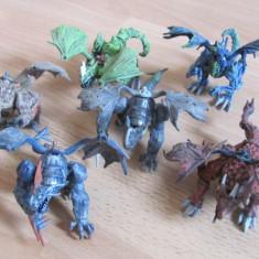 Lot dragoni mici (12 cm), Mega Bloks, 6 buc - Set de constructie