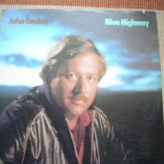 JOHN CONLEE Blue highway muzica country rock 1984 disc vinyl lp editie vest, VINIL