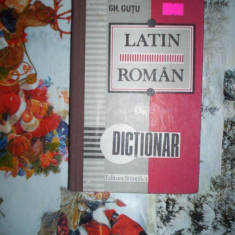Dictionar latin - roman - GH.GUTU