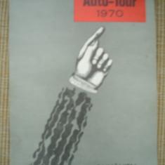 auto tour rumanien 1970 ACR romania harti ghid calatorie turism limba germana