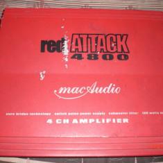 Amplificator auto 4 canale MAC AUDIO Red Attack 4800 super pret