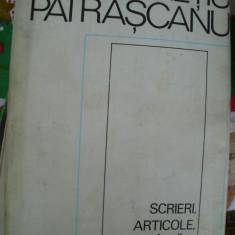 SCRIERI, ARTICOLE, CUVANTARI 1944-1947 - Filosofie